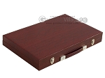picture of Hector Saxe Faux Snake Backgammon Set - Medium - Maroon (11 of 12)