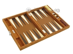 picture of Hector Saxe Suede Leather Travel Backgammon Set - Havana (10 of 12)