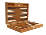 picture of Hector Saxe Suede Leather Travel Backgammon Set - Havana (11 of 12)