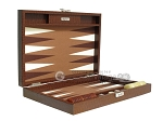 picture of Hector Saxe Faux Lizard Travel Backgammon Set - Brown (11 of 12)