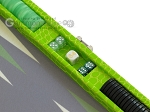 picture of Hector Saxe Faux Croco Travel Backgammon Set - Flashy Green (9 of 12)