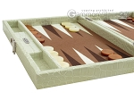 picture of Hector Saxe Faux Croco Travel Backgammon Set - Ivory (5 of 12)