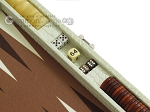picture of Hector Saxe Faux Croco Travel Backgammon Set - Ivory (9 of 12)
