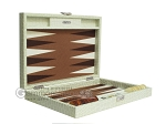 picture of Hector Saxe Faux Croco Travel Backgammon Set - Ivory (11 of 12)
