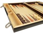 15-inch Wood Backgammon Set - Retro