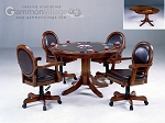 picture of Warrington Game Table Set (Table + 4 chairs) (1 of 2)