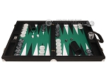 picture of Wycliffe Brothers® Tournament Backgammon Set - Black with Green Field - Gen II (4 of 12)