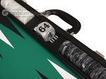 picture of Wycliffe Brothers® Tournament Backgammon Set - Black with Green Field - Gen II (7 of 12)