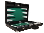 picture of Wycliffe Brothers® Tournament Backgammon Set - Black with Green Field - Gen II (10 of 12)
