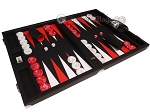 picture of Wycliffe Brothers® Tournament Backgammon Set - Black with Black Field - Gen II (2 of 12)