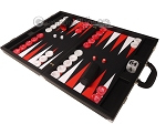 picture of Wycliffe Brothers® Tournament Backgammon Set - Black with Black Field - Gen II (3 of 12)