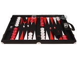 picture of Wycliffe Brothers® Tournament Backgammon Set - Black with Black Field - Gen II (4 of 12)