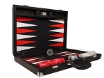 picture of Wycliffe Brothers® Tournament Backgammon Set - Black with Black Field - Gen II (10 of 12)