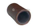 picture of Brown Leatherette Backgammon Dice Cup - Black Interior with Trip Lip (2 of 2)