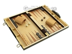 picture of 15-inch Wood Backgammon Set - Zebra Wood (2 of 11)