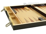 picture of 15-inch Wood Backgammon Set - Zebra Wood (5 of 11)