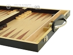 picture of 15-inch Wood Backgammon Set - Zebra Wood (6 of 11)