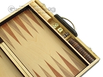 picture of 15-inch Wood Backgammon Set - Zebra Wood (7 of 11)