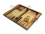 picture of 18-inch Wood Backgammon Set - Zebra Wood (3 of 11)