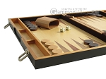 picture of 18-inch Wood Backgammon Set - Zebra Wood (5 of 11)