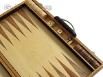 picture of 18-inch Wood Backgammon Set - Zebra Wood (7 of 11)