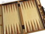 picture of 18-inch Wood Backgammon Set - Zebra Wood (8 of 11)
