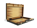 picture of 18-inch Wood Backgammon Set - Zebra Wood (9 of 11)