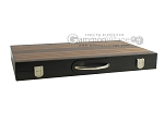 picture of 18-inch Wood Backgammon Set - Zebra Wood (11 of 11)