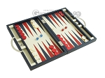 picture of Zaza & Sacci® Leather Backgammon Set - Model ZS-200 - Travel - Blue (2 of 12)