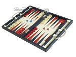 picture of Zaza & Sacci Leather Backgammon Set - Model ZS-200 - Travel - Blue (3 of 12)