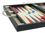 picture of Zaza & Sacci® Leather Backgammon Set - Model ZS-200 - Travel - Blue (5 of 12)