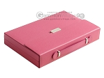 picture of Zaza & Sacci® Leather Backgammon Set - Model ZS-242 - Travel - Pink (11 of 12)