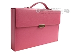 Zaza & Sacci® Leather Backgammon Set - Model ZS-242 - Travel - Pink - Item: 2456