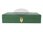 picture of Zaza & Sacci® Leather/Microfiber Backgammon Set - Model ZS-305 - Small - Green (12 of 12)