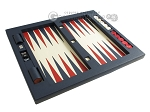 picture of Zaza & Sacci Leather Table Top Backgammon Set - Blue (12 of 12)