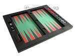 picture of Zaza & Sacci® Leather/Microfiber Table Top Backgammon Set - Black (12 of 12)