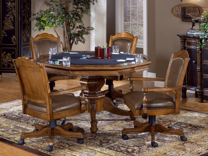 Nassau Game Table Set (Table + 4 chairs)