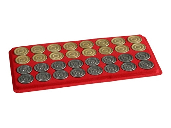 Metal Backgammon Checkers<br>(1 3/16in. Dia.) - Set of 32