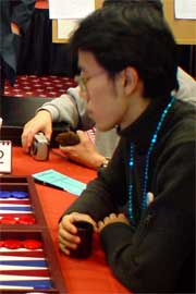 2009 World Championship Semi-Finals - Mochy vs. Philippe Lecomte - Game 1 by GNU Backgammon
