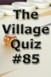 The Village Quiz #85 by Paul Money