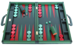 Leather Backgammon Sets: $900+