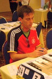 2008 World Backgammon Championships - Day 3 by Achim Mueller