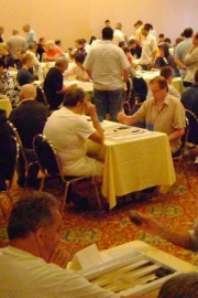 2008 World Backgammon Championships - Day 2 by Achim Mueller