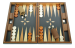 Wood Backgammon Sets: Large $80-$300