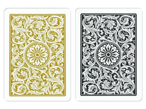 Copag Bridge Black/Gold Cards - Double Deck