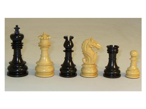 Black Lotus Wood Chessmen