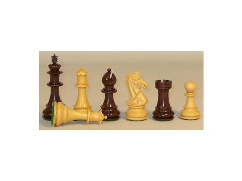 Rosewood Bridle Knight Chessmen