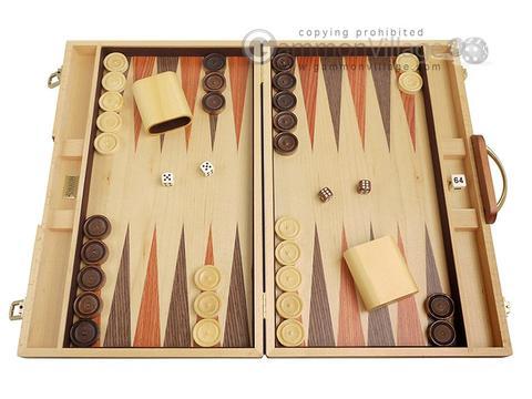 Backgammon sets boards by orion woodcraft gammonvillage store usa 18 inch wood backgammon set burlwood publicscrutiny Choice Image
