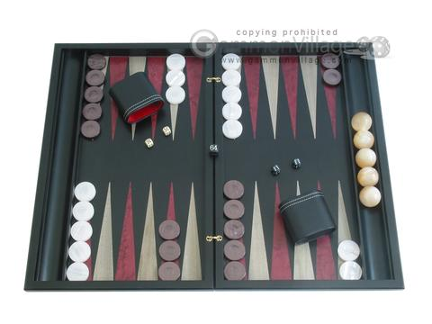 Sensation Backgammon Set with Racks - Model 409