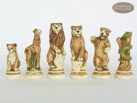 Jungle Life Chessmen